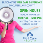Well Care Health to Host Open House in Fayetteville