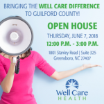 Well Care Health to Host Open House in Greensboro